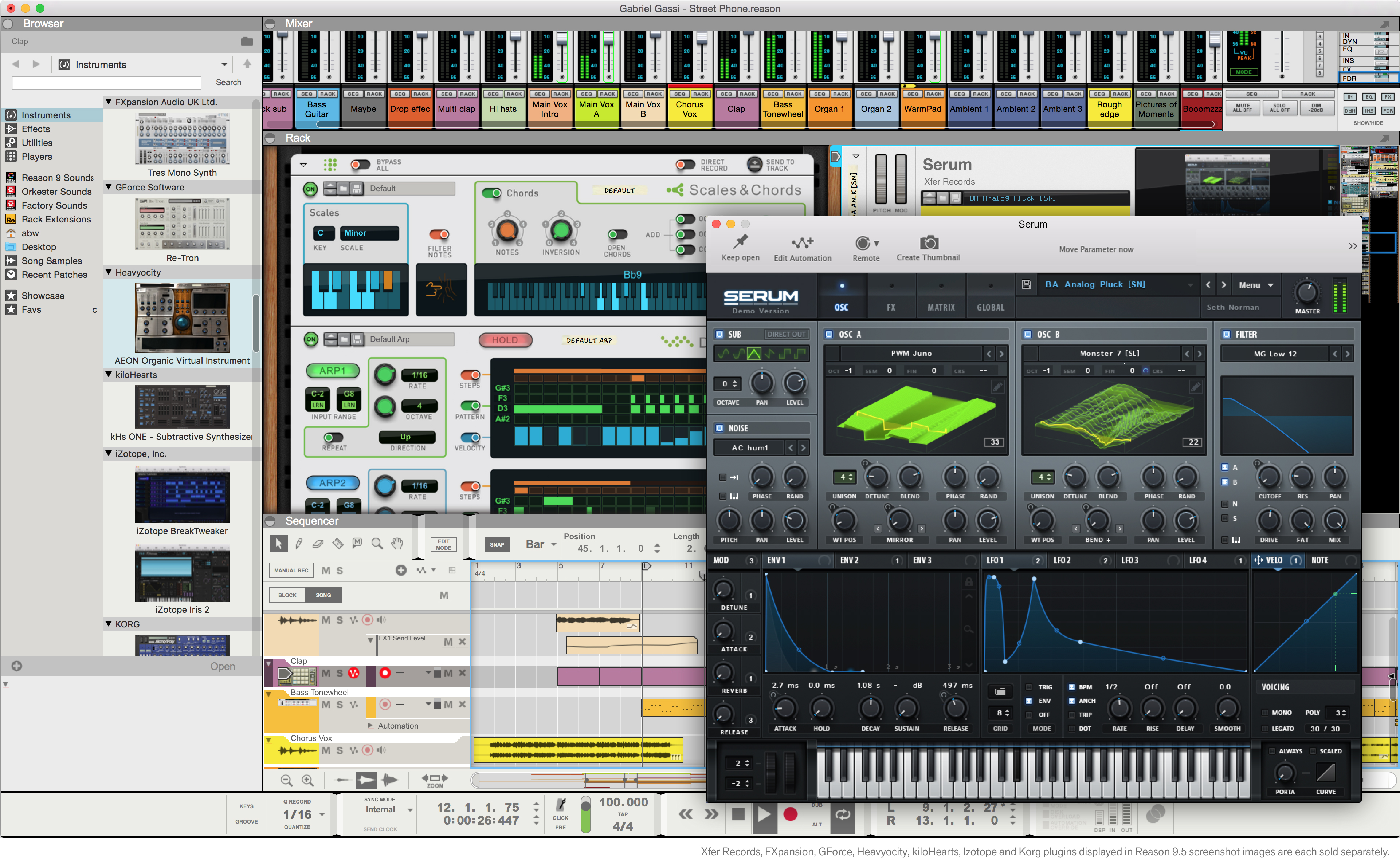 Reason 9.5 officially adds VST support to its summer 2017 line-up