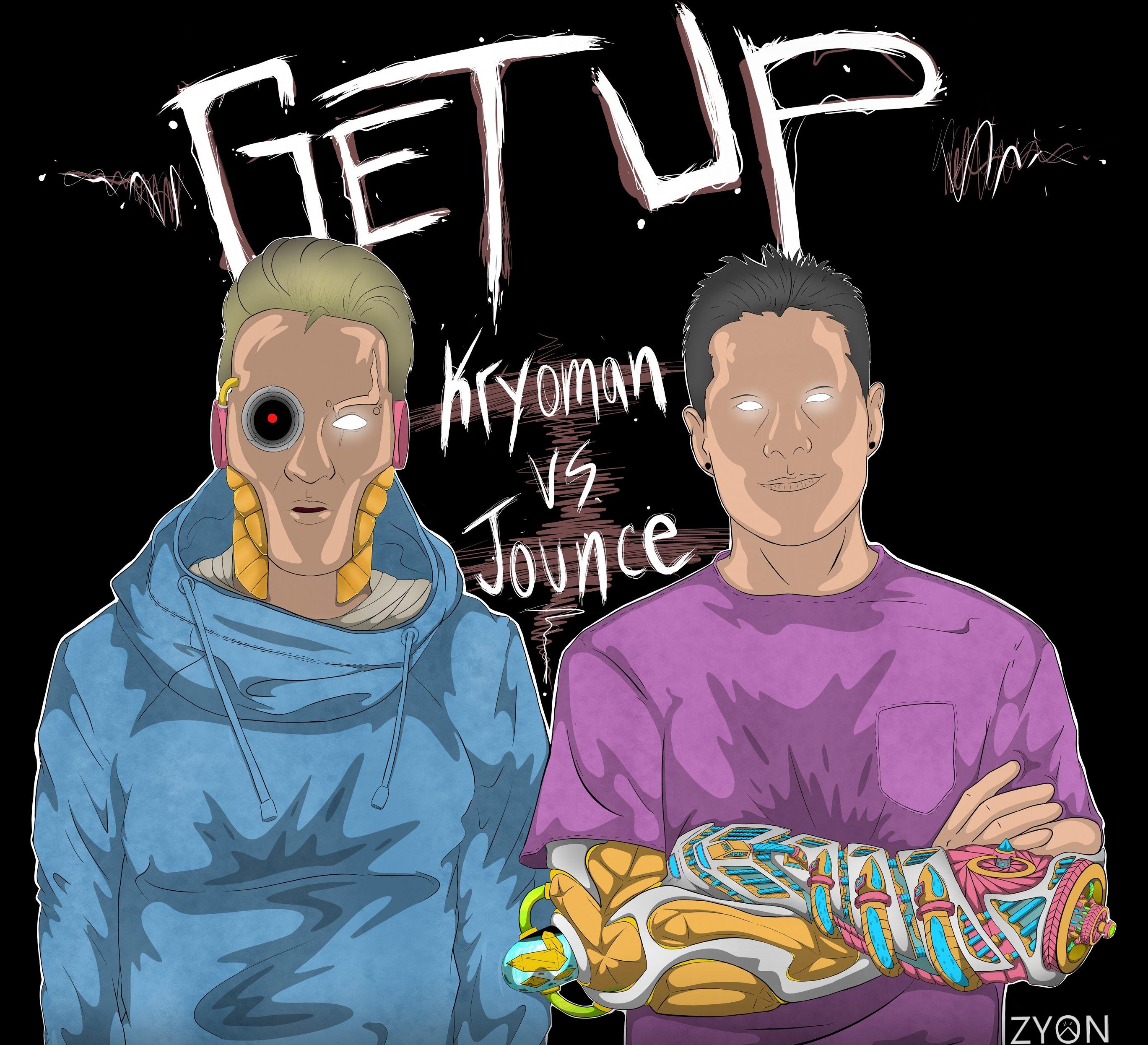 WATCH! KRYOMAN & JOUNCE MAKE THE GYM GO WILD