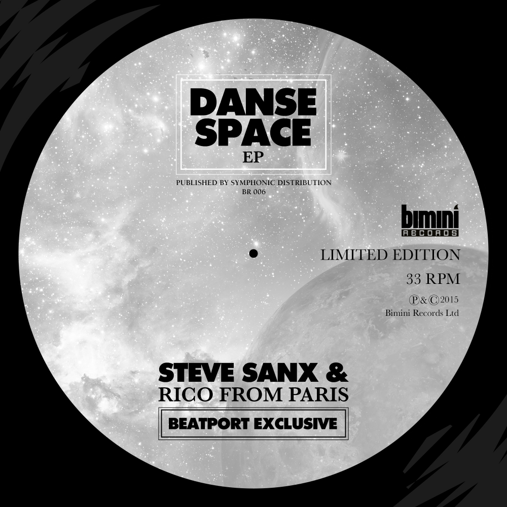 DANSE SPACE EP OUT NOW ON BIMINI RECORDS (BEATPORT EXCLUSIVE)