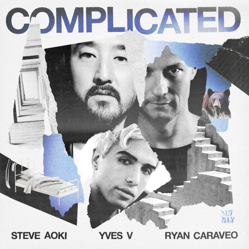STEVE AOKI, YVES V & RYAN CARAVEO UNITE WITH A FRESH SPIN ON AVRIL LAVIGNE'S 'COMPLICATED'